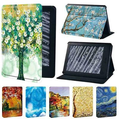 Painting Tablet Stand Cover Case For Amazon Kindle 8th 10th Paperwhite 1/2/3/4 • 7.99£