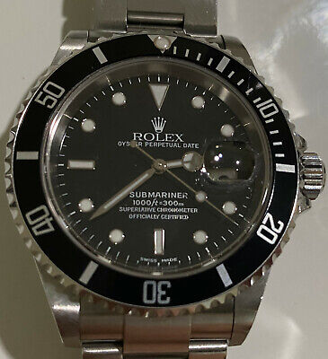 $ CDN10890.84 • Buy Rolex Submariner 16610 From 2002 Nice Condition Certificat Of Authenticy And Box