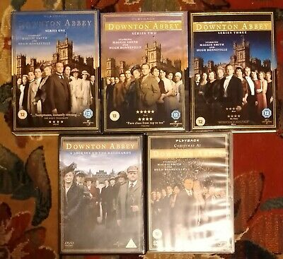 Downtown Abbey 1-3 + Christmas At And Highlands Special • 0.99£