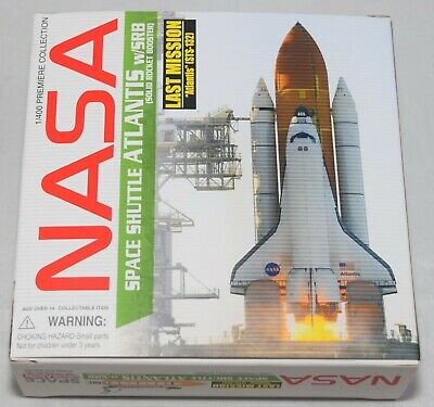 Dragon Wings 56185 Space Shuttle Atlantis W/ Srb Last Mission 1:400 Scale • 69.99£