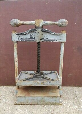 Large Vintage Cast Iron Book Press, Paper, Crafting Etc • 595£