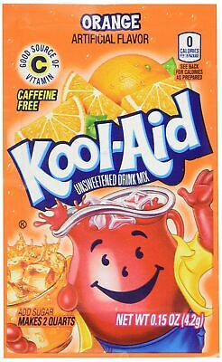 Kool-Aid Unsweetened Soft Drink Mix, Orange, 0.15 Ounce (Pack Of 48) • 15.04£