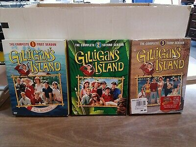 £36.34 • Buy Gilligans Island - The Complete  Season 1,2 &3  Dvd. (1 New And 2 Used )