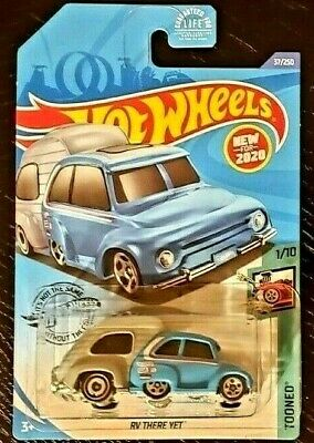 $7.77 • Buy Hot Wheels RV There Yet Tooned New 2020 Model 1/10 Blue & Gray With Mini Decals