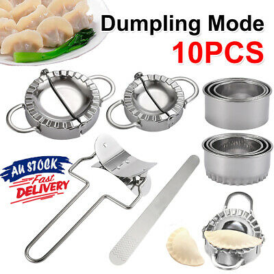 AU17.99 • Buy 5x Dumpling Maker Stainless Steel Dough Press Pie Ravioli Making Mold Mould Tool