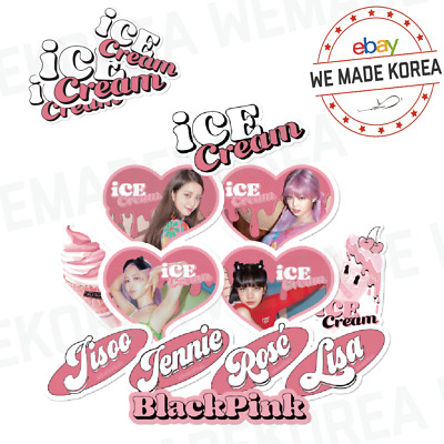 $ CDN18.15 • Buy BLACKPINK ICECREAM Sticker Decoration Item 12types Official K-POP Authentic MD