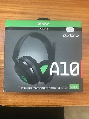 AU60 • Buy Astro A10 Green Over The Ear Only Headsets For Microsoft Xbox One