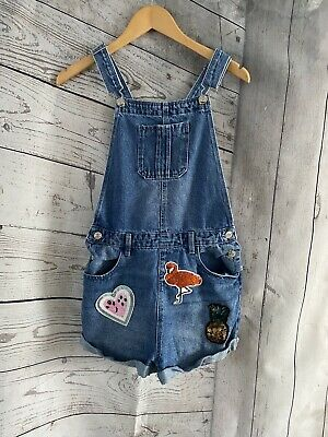 Girls Dungaree Blue Denim & Co Outfit Age 12-13 Years Immaculate  • 8.55£