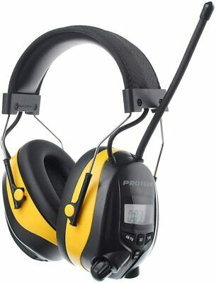 FM/AM Radio Noise Reduction Headset Ear Defenders With Stereo Headphone SNR 30dB • 54.95£