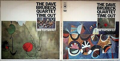 The Dave Brubeck Quartet - Time Out Time Further Out - Double LP - CBS 22013 • 12£