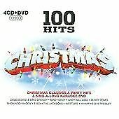 Various Artists - 100 Hits (Christmas, 2009) 4 Cd 1 Dvd. Classics Party Karaoke • 1.60£