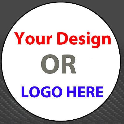 100 X 35 Mm Personalised Business, Name, Thank You Seals, Logo, Labels Customize • 3.05£