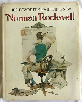 $ CDN26.67 • Buy 102 Favorite Paintings By Norman Rockwell 157 Page Book, Copyright 1978