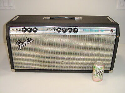 $ CDN13.32 • Buy Vintage 1969 Fender Super Bassman Bass Guitar Silverface 6L6 100W Tube Amp Head
