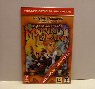 £14.17 • Buy Escape From Monkey Island Clue Book By LucasArts - IBM PC Windows, Macintosh