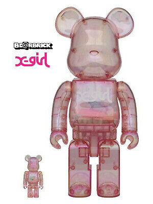 $1405.15 • Buy Nib Medicom Toy Limited 2020 X-girl × Be@rbrick 100% & 400%