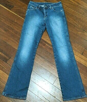 AU48 • Buy RM WILLIAMS Dark Blue Longhorn Bootcut Size 10 Jeans Made In Australia Excellent