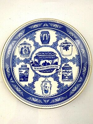 Ringtons Tea Decorative Blue & White Caddy Collection Plate By Masons 1992 • 9.95£