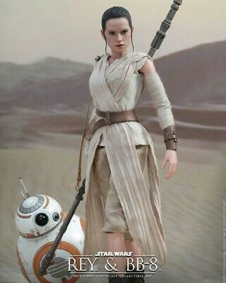 $ CDN314.03 • Buy Hot Toys MMS 337 Star Wars VII The Force Awakens Rey & BB-8 Dented Outer Box