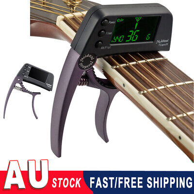 AU14.43 • Buy TCapo20 Meideal Quick Change Key Capo Tuner Alloy For Acoustic Guitar Bass Tuner