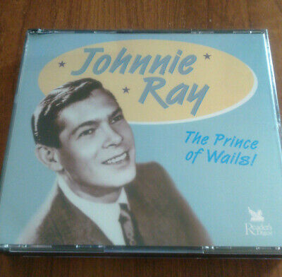 Johnnie Ray, The Prince Of Wails, 3 CD Box Set • 4.99£