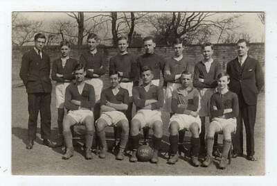 Picture Postcard Of A School Football Team, 1930-31 (JH6122) • 7£