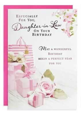 Especially For You Daughter-in-law Happy Birthday (gifts/floral)  Free P&p • 1.51£