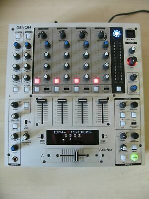 DENON DN-X1500S Professional 4-channel DJ Mixer / WORKS WELL • 339£