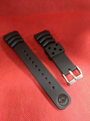 Z22 BLACK RUBBER DIVER'S WATCH STRAP 22mm New Good Quality REPLACEMENT • 12.50£