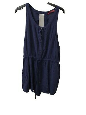 AU28 • Buy Tigerlily 14 Playsuit Backless Navy