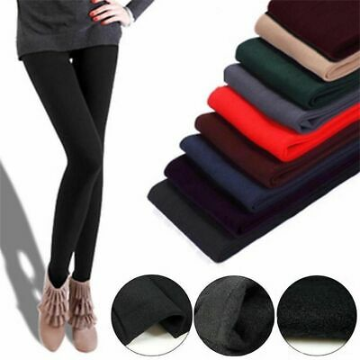 £3.78 • Buy Winter Women's Thermal Thick Warm Tight Pencil Leggings Pants Fleece Lined