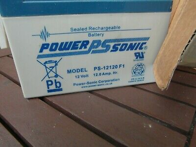 Power-Sonic 12 Volt 12Ah Rechargeable  12V PS12120 Batt For Collection Only • 20£
