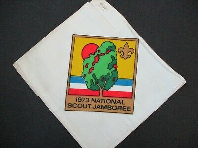 1973 National Scout Jamboree Boy Scout Neckerchief • 4.41£