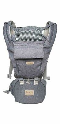 Baby Carrier With Hip Seat Holder Wrap Adjustable Carrier Newborn Infant • 33.28£