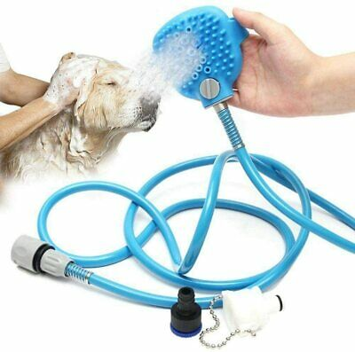 Pet Bathing Tool Combination Of Shower Sprayer And Scrubber High Quality UK • 9.99£