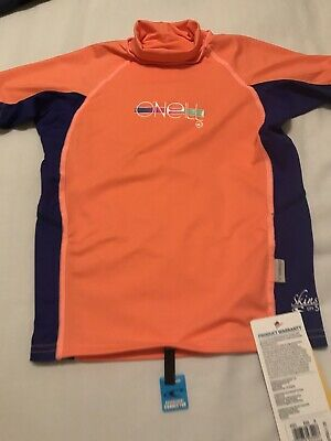 Boys Sun Protection Swimwear Top UPF 50 BNWT Age 8 Years By O'Neill With Boards • 9.50£