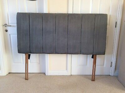 Grey Padded Headboard For Kingsize Bed • 15£