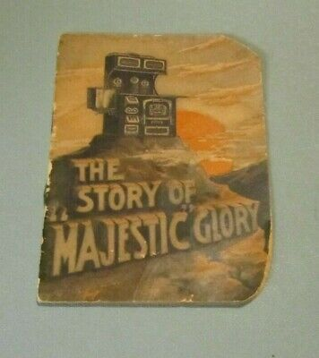 $9.95 • Buy Vintage The Story Of Majestic Glory Gas Range Advertising Booklet St. Louis MO