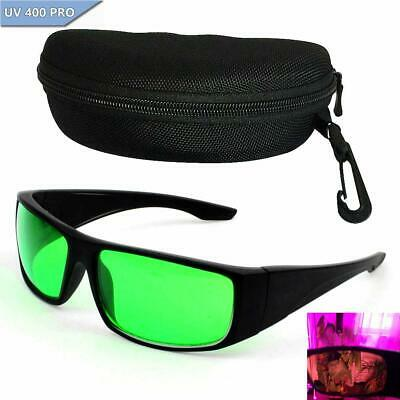 LED Grow Light Safety Glasses Indoor Hydroponic Room Plant Visual Eye Protection • 16.20£