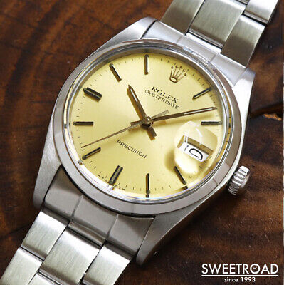 $ CDN5556.58 • Buy Rolex Oyster Date Ref.6694 Vintage Cal.1225 Manual Winding Mens Watch Authentic