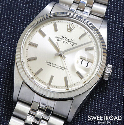 $ CDN7472.23 • Buy Rolex Oyster Perpetual Datejust Ref.1601 Vintage Cal.1570 Automatic Mens Watch