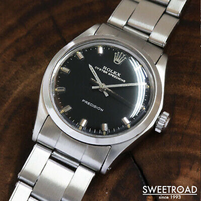 $ CDN6897.13 • Buy Rolex Oyster Speedking Ref.6430 Vintage Cal.1225 SS Manual Winding Mens Watch