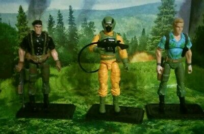 $ CDN402.23 • Buy Gi Joe Cobra 25th 3 Figure Lot - Flint, Airtight, Chuckles