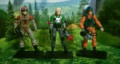 $ CDN402.23 • Buy Gi Joe Cobra 25th 3 Figure Lot - Crazylegs, Psych-Out, Scoop