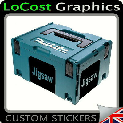 4 Stickers For Makita Makpac 821551-8 18v Circular Saw Jigsaw Planer Box Type 3  • 6.99£