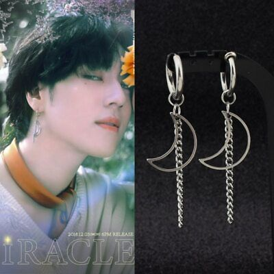 Yugyeom GOT7 EARRINGS Hoop Drop Korean Jewellery Jewelry Kpop Merchandise  • 18£