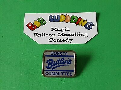 RARE! Butlin's Guests Committee Badge, 80's, Lovely Collectable Enamel Badge. • 14.99£