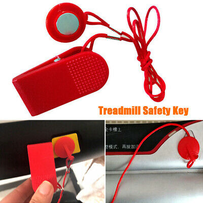 AU5.83 • Buy Fitness Equipment Protective Switch Lock Treadmill Safety Key With Magnet ABS
