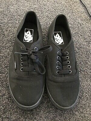 AU19.50 • Buy Black Vans Size 7.5 Us Ladies Brand New