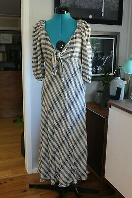 AU30 • Buy Country Road Frayed Tie Front Dress Sz8 BNWT